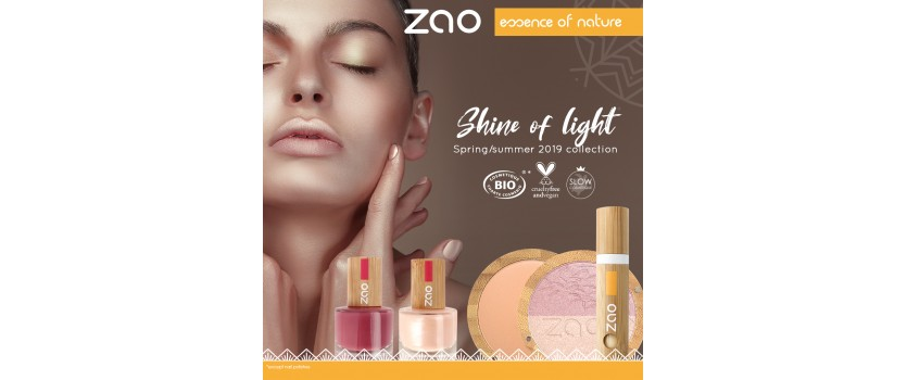 ZAO Organic SUMMER COLLECTION 2019